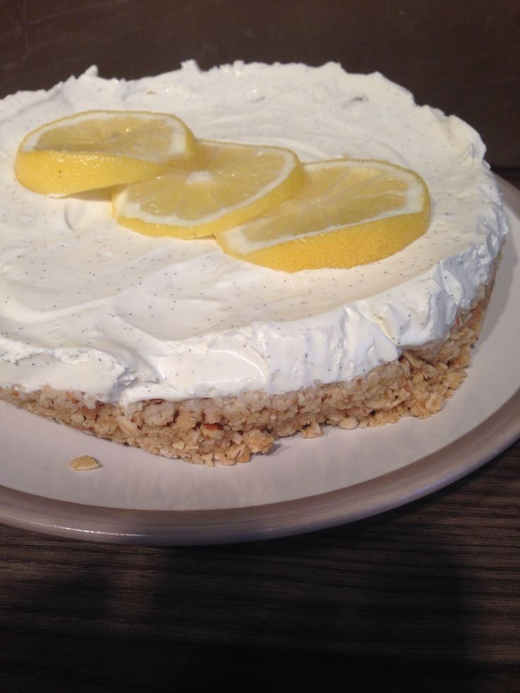Lemon Cheesecake, healthy & yummy!! Register with our website for the recipe! www.advanceevents.co.uk