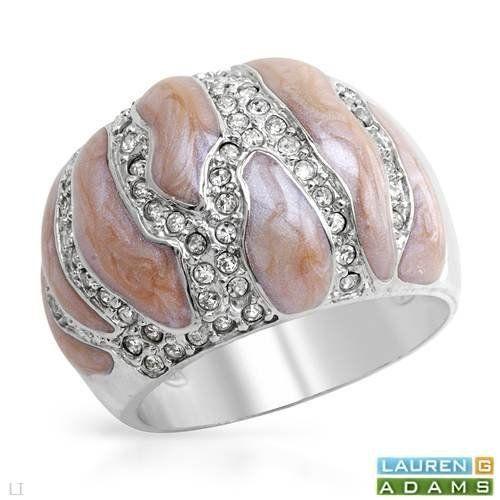 Lauren G. Adams Sterling Silver Crystal Ladies Ring. Ring Size 7. Total Item weight 11.4 g. Lauren G. Adams. $37.00