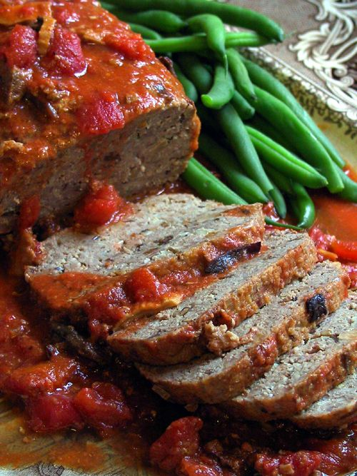 #ComfortFood: #ItalianStyle Ground Turkey Meatloaf