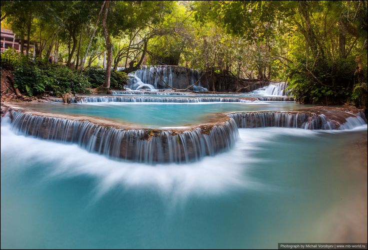 Водопад Куанг Си - Новогодний Лаос - 2014 - Фото галерея - Форум путешественников MB-WORLD.RU
