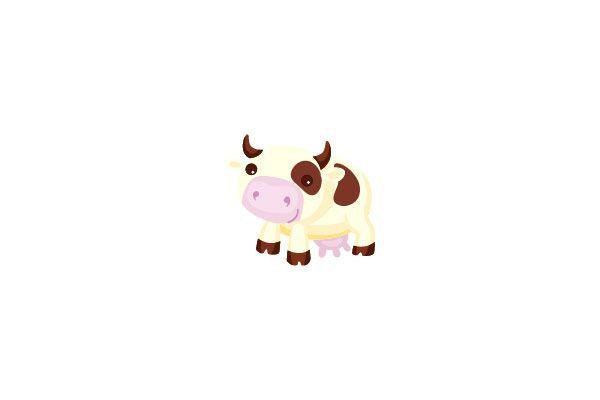 Cow Vector Graphics #farmvector #cowvector #vectorpack http://www.vectorvice.com/farm-vector
