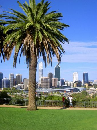 view from Kings Park, Perth, Australia..