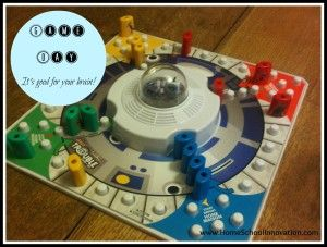 Homeschooling with Games Games are a great way to enhance our brain power! http://homeschoolinnovation.com/blog/homeschooling-with-games/