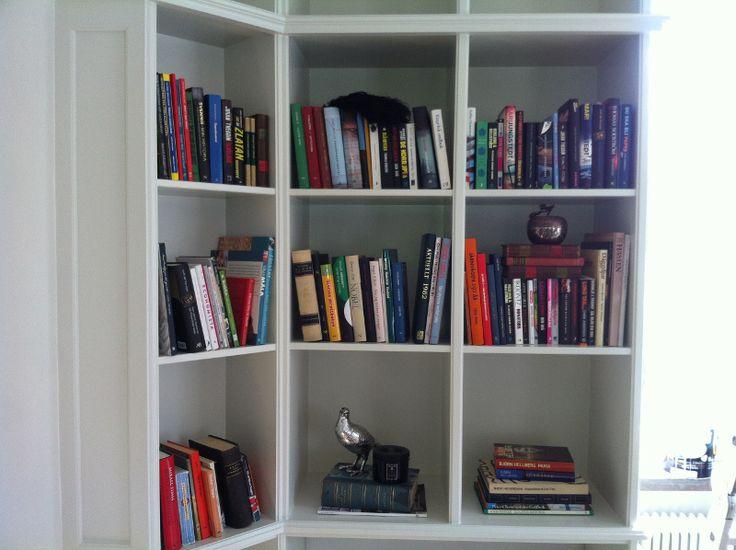 bokhylla närbild