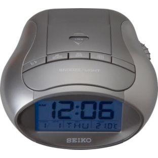 buy seiko alarm clock at your online shop for clocks argos perfect christmas. Black Bedroom Furniture Sets. Home Design Ideas