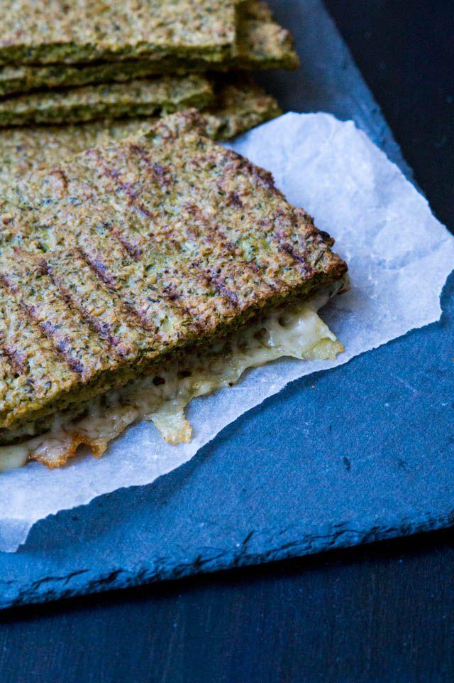 Broccoli fladbrød - gode til toast - Stinna