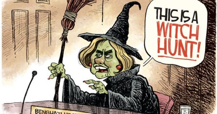 Below is a partial list of far worse comments by the Wicked Witch of Benghazi, not a single one of which I have ever heard a word of condemnation from the media.