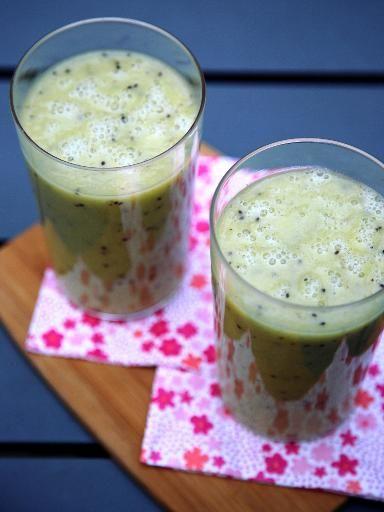 Smoothie vitaminé du petit-déjeuner