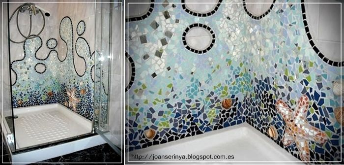 Trencadis, rivestimento bagno tipico spagnolo