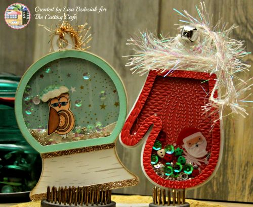 life of a bzscrapper cutting cafe from owl of us stamp and christmas shaker files 25 days of christmas tags ctmh oh deer paper - Shaker Cafe Ideas