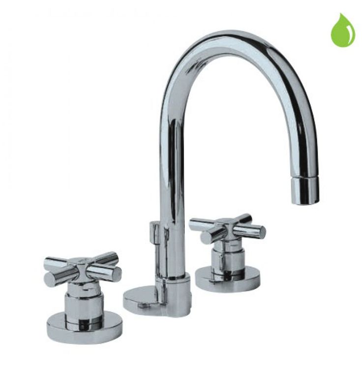 Jaquar Solo 3-Hole Basin Mixer Without Popup Waste System, 15 MM Cartridge Size