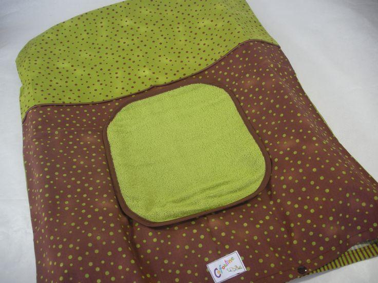 Housse matelas à langer et 2 serviettes imperméables : Puériculture par cafoutine
