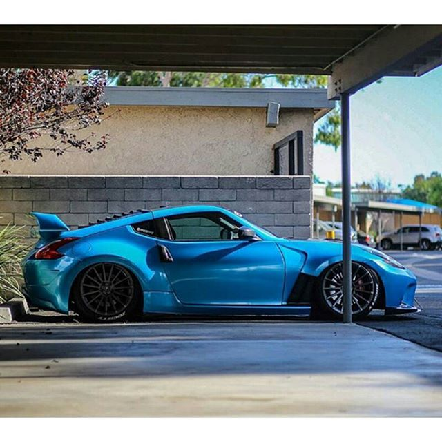 blue Nissan 370z Touring/Sport blue lambo doors - Google Search