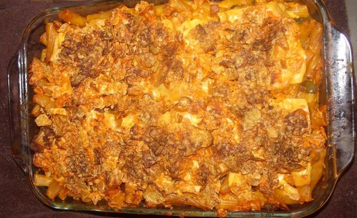 Nacho Mama's MacNcheese an easy casserole - tried it, it's good!
