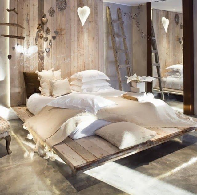 30 besten Bedroom Bilder auf Pinterest Innenarchitektur, Wohnen - einrichtungsideen im shabby chic stil verspielter charme