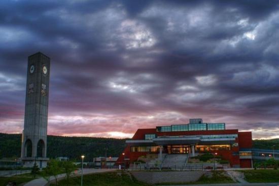 Memorial University campus