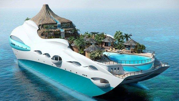 25 barcos luxuosos que vão te deixar babando