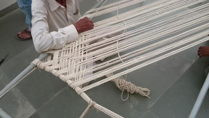 Website: http://awesomecreativeideas.blogspot.in/ Making of rope bed with Simple Method