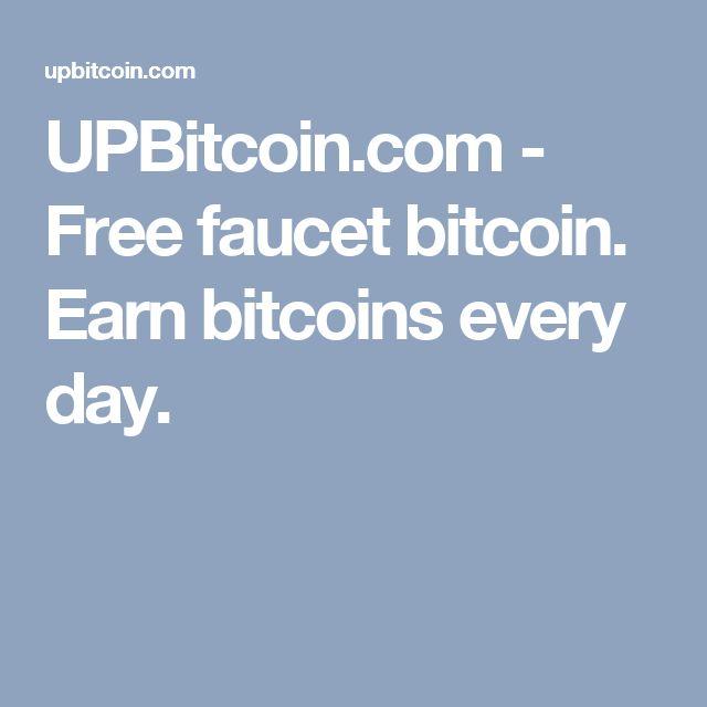 UPBitcoin.com - Free faucet bitcoin. Earn bitcoins every day.