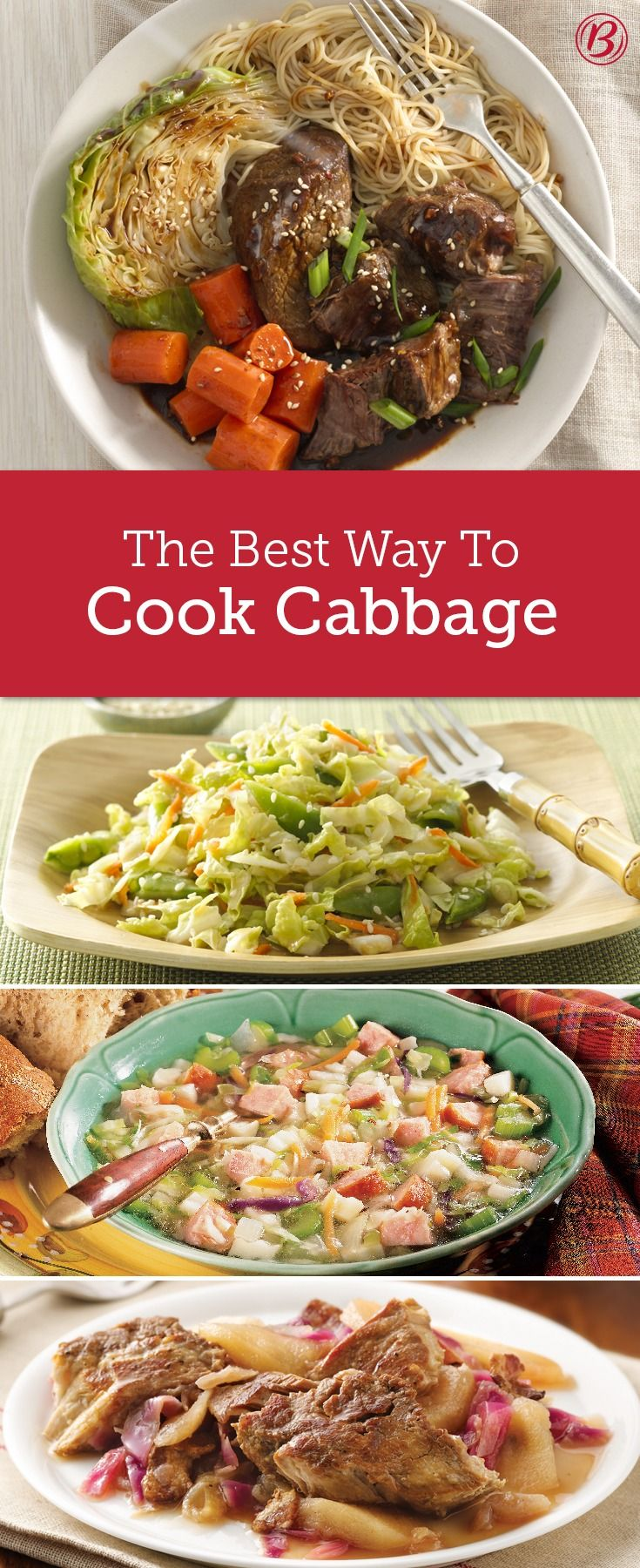 Cabbage has been an indispensable food throughout the world for thousands of years. This mild-tasting vegetable is easy to grow, versatile and inexpensive. It comes in many different varieties and with loads of health benefits. Learn how to cook cabbage, shop for it and store it.