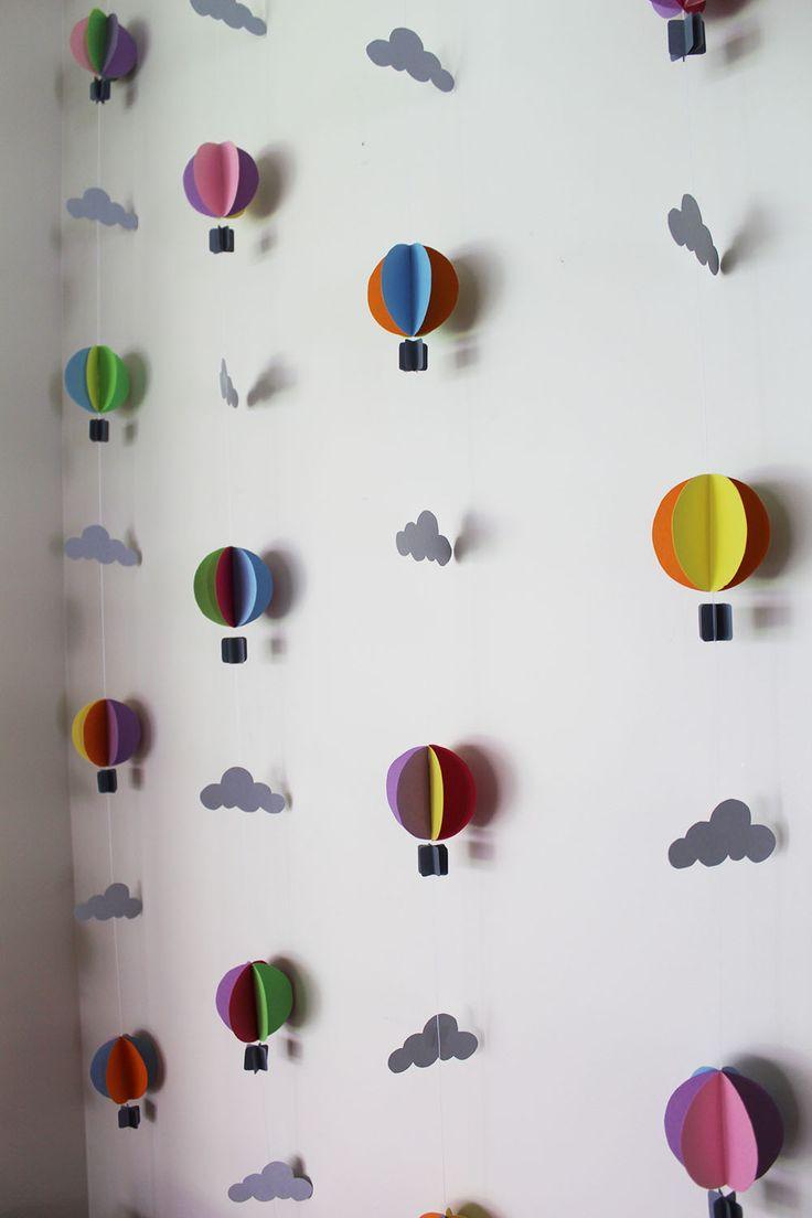 handmade hot air-ballons