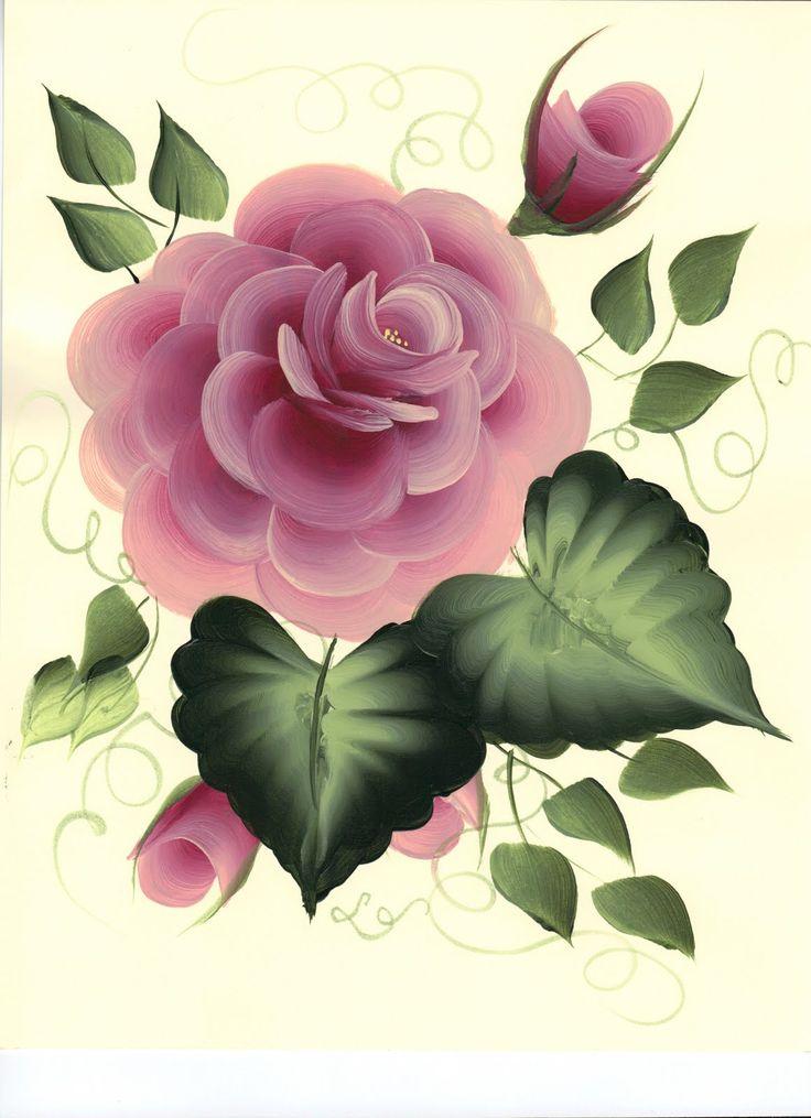 One+Stroke+Rose