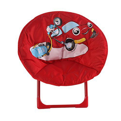 "Your child will be ""sitting pretty"" with this delightful child moon chair with cushioned seat and sturdy metal frame.Pretty 3D cartoon design ,great for indoors or outdoors. Folds for easy storage & comes No assembly required. $97 LH Deluxe Add-on Now that you've stopped paying... more details available at https://furniture.bestselleroutlets.com/children-furniture/chairs-seats/folding-chairs/product-review-for-comfortable-kids-folding-moon-chair-for-indoor-and-o"