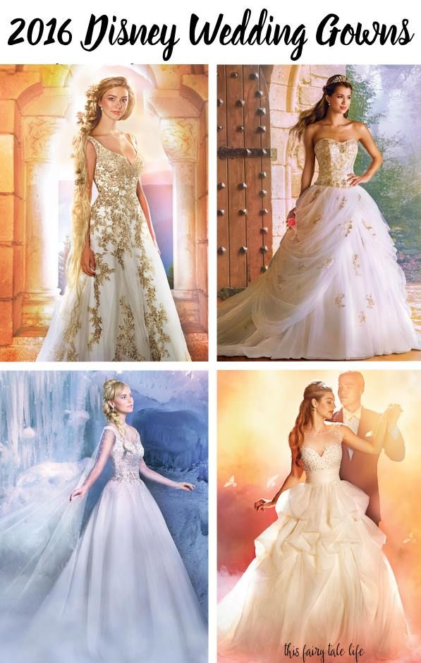 First Look at the 2017 Disney Wedding Gowns from Alfred Angelo