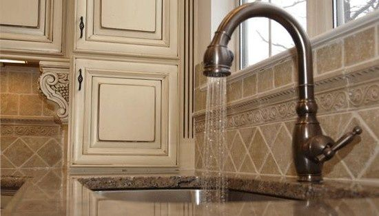 backsplash designs travertine