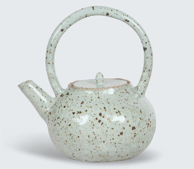 Beautiful hand-made teapot by Katia Carletti.