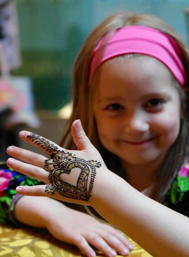 Beautiful Stylish Henna Kids Mehndi Design | Fashion