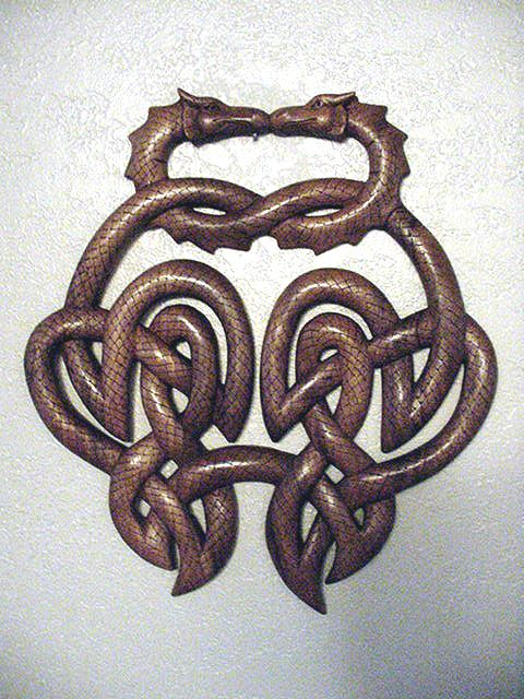 Celtic Wood Carving Figures | Celtic Wood Carvings | Carving Wood