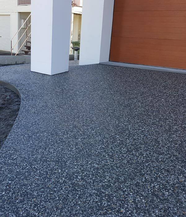 Image Result For Exposed Aggregate Driveway Ideas For