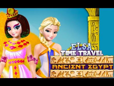 disney's characters in anicent times | Elsa Time Travel Ancient Egypt Disney Frozen Movie Dress ...