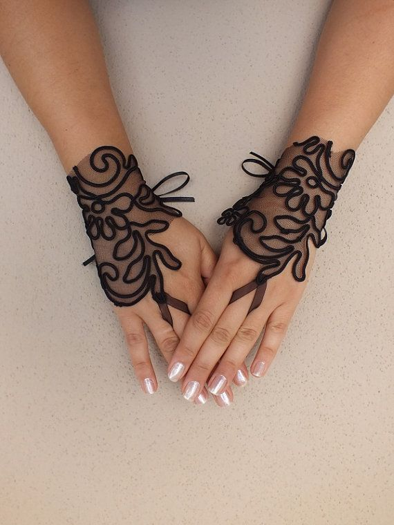 17 best images about pretty funeral attire on pinterest for Lace glove tattoo
