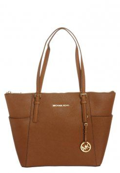 MICHAEL Michael Kors - JET SET - Handväska - brown