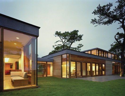The rifkind house wainscott long island new york tod for Modern house new york