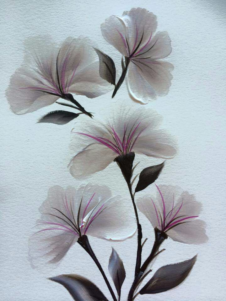405 Best Images About One Stroke Painting And Patterns On