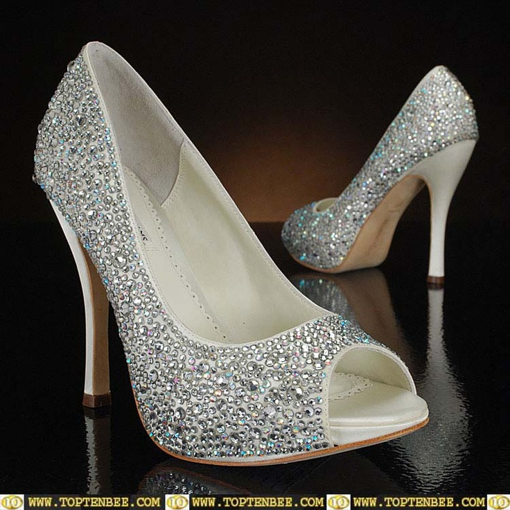 Top Ten White Wedding Shoes