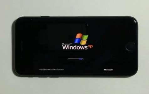 iPhone 7 ruland Windows XP este cel mai tare hack al lunii martie (VIDEO)