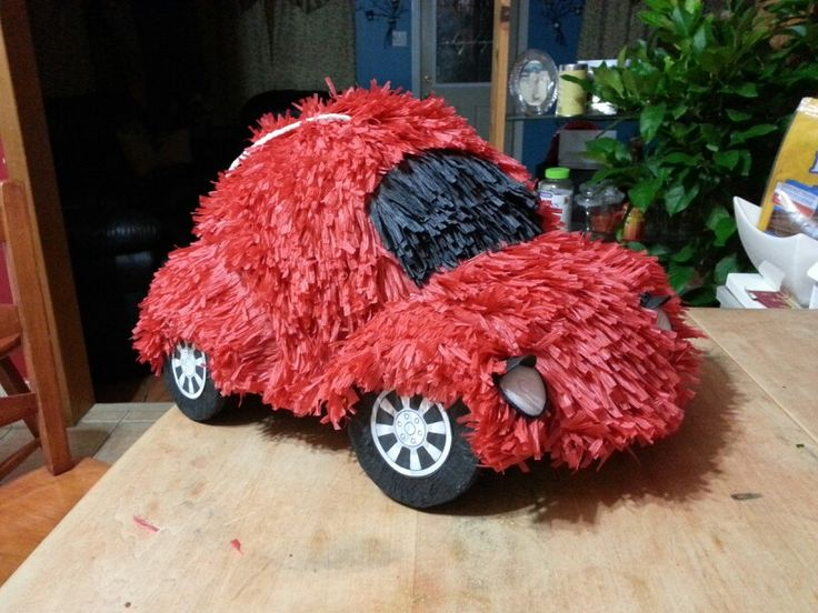 Another piñata ready to speed off to a birthday party :)