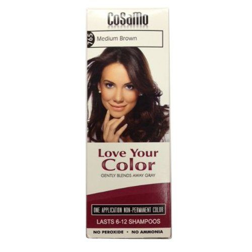 Love Your Color Cosamo Non Permanent Hair Color, Brown, Medium - http://essential-organic.com/love-your-color-cosamo-non-permanent-hair-color-brown-medium/