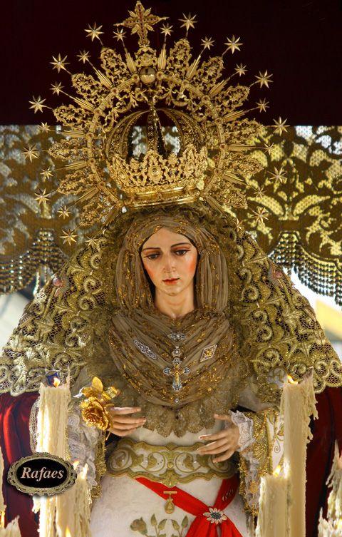 Fotos de la Virgen de la Aurora. Hermandad del Resucitado. Sevilla::::RAFAES