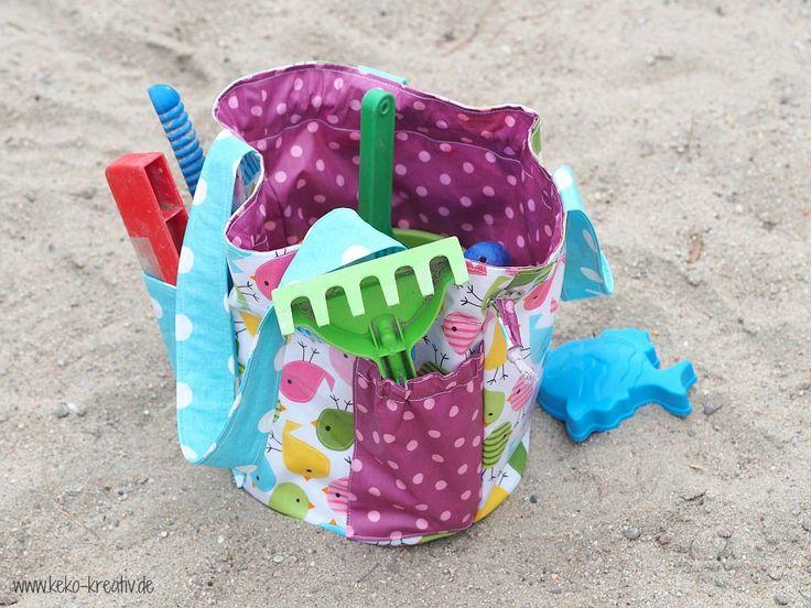 Tasche für den Sandkasten