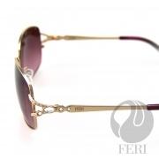FERI Paris - Gold - Manufactured in Italy - $640.00 #sunglasses #shades