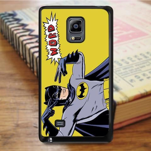 Batman Word Super Heroes Marvel Samsung Galaxy Note 4 Case