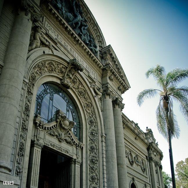 Santiago, Chile - Museo de Bellas Artes