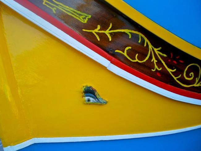 Ojo de Osiris (detalle del barco típico de Malta)