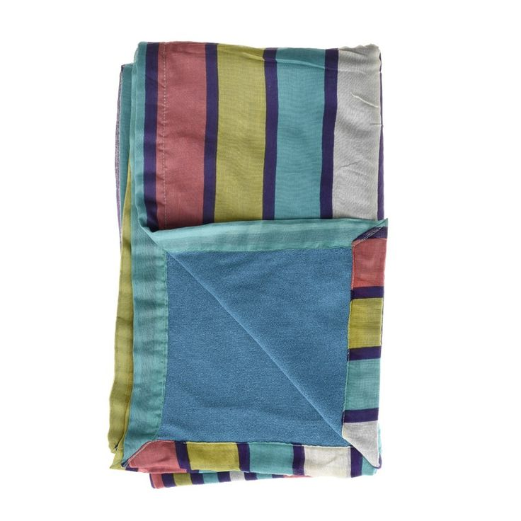 DOUBLE SIDE BEACH TOWEL W/STRIPES - Towels