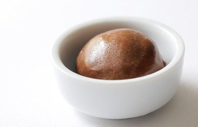 Paul Ainsworth's chocolate sorbet